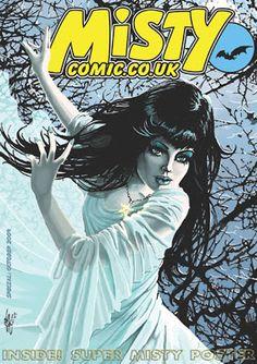 Blimey! The Blog of British Comics! : Misty returns - twice!