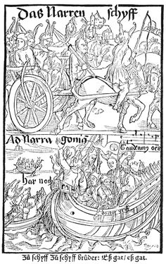 Navigating Dürer's Woodcuts for The Ship of Fools | The Public Domain Review