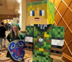 20 Amazing Minecraft Costumes at MineCon 2011