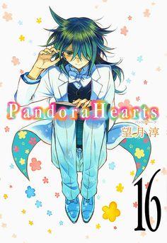 Volume Cover(Special Edition) : Leo Baskerville Pandora Hearts : Original Artwork