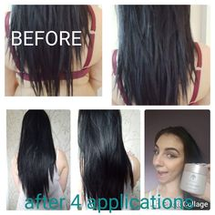 Teri My results after 4 applications of the RENU HAIR MASK So much healthier Shiner And no longer falls out and clogs up my shower hole Feel free to use  My Beauty, Beauty Care, Beauty Hacks, Hair Beauty, Best Skincare Products, Hair Products, Galvanic Spa, Daily Makeup Routine, Hair Loss