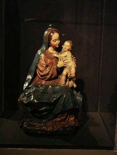 1699. Virgen con el Niño La Roldana Convento de San José (Sevilla)