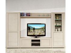 Composition murale tv - irne - l 296 x l 48 x h 182 - neuf - pas cher ? C'est sur Conforama.fr - large choix, prix discount et des offres exclusives TOUSMESMEUBLES sur Conforama.fr