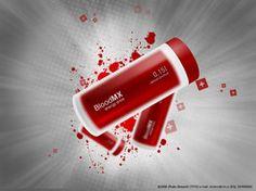 blood packaging design