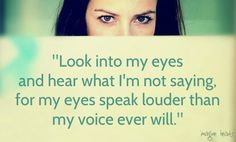 Eyes speak louder than words.  www.imaginehearts.com