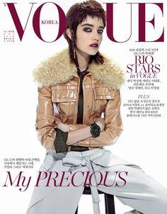 O estilo descolado e inspirador de Grace Hartzel na Vogue Coréia  Fragmentos de Moda