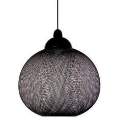 Non Random D48 loftslampe, sort