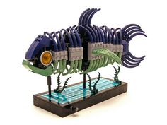 Fish by Legohaulic, via Flickr