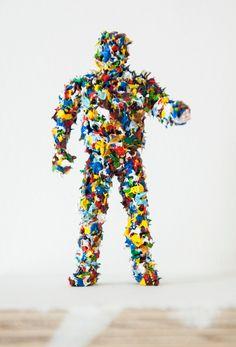 Rory Emmett, 'The Ou' (2015), Wood, Gesso, plastic, oil paint, 11.5 x 5.5 x 2cm Assemblages, Sprinkles, Plastic, Oil, Sculpture, Painting, Plastering, Painting Art, Sculptures