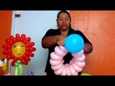Flor con globos-video 1