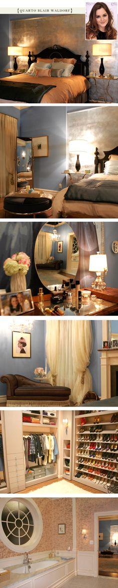 Blair Waldorfu0027s Bedroom From Gossip Girl. Redoing My Room Like This Because  I Am Blair Waldorf