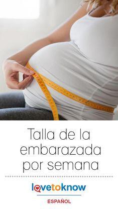 2966f27a2 Tener un bebé es un momento emocionante y llevar un registro del tamaño de  tu embarazo