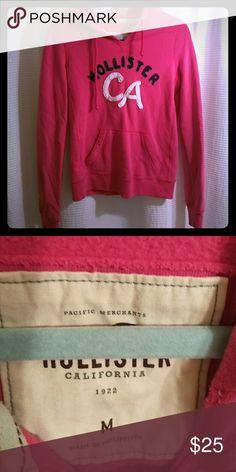 4beba28767904 Hollister Hoodie size M Size M pink Hoodie. Hollister Tops Sweatshirts    Hoodies