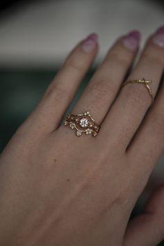 Boho Wedding Ring, Wedding Rings Simple, Wedding Rings Vintage, Unique Rings, Vintage Rings, Non Diamond Wedding Rings, Unique Promise Rings, Infinity Wedding, Vintage Promise Rings