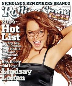 Rolling Stone Cover - Volume - - Lindsay Lohan Art Print by Matthew Rolston. All prints are professionally printed, packaged, and shipped within 3 - 4 business days. Choose from multiple sizes and hundreds of frame and mat options. Lindsay Lohan Now, Sarah Mcdonald, The Rolling Stones, Stunningly Beautiful, Nicole Kidman, Celebs, Celebrities, No Time For Me, New Fashion
