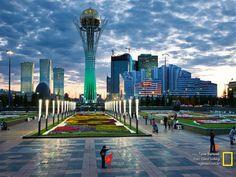 """""""Torre Bayterek"""". Astana. Cazaquistão."""