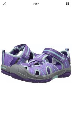 3bf80bc9ea84 Merrell Hydro Water Sandal (Toddler Little Kid Big Kid) Purple Blue 5M US  Big  fashion  clothing  shoes  accessories  kidsclothingshoesaccs   girlsshoes ...