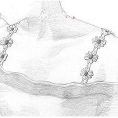 Bra Strap Handmade DesignCustomized Headband by MolyStory on Etsy Dress Bra, Black Lace Bra, Pink Daisy, Bra Straps, Handmade Design, Beautiful Flowers, How To Look Better, Trending Outfits, Unique Jewelry