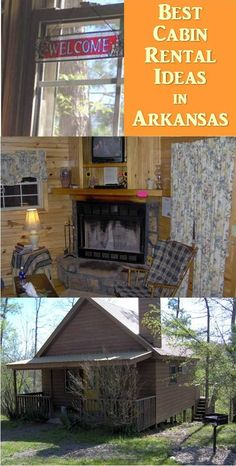 Arkansas Cabins Rentals nestled in the Ouachita National Forest. Check out this and other cabin rentals in Arkansas and around the country. Cabin Rentals In Arkansas, Central States, Places To Rent, Family Road Trips, Vacation Rentals, National Forest, Hiking Trails, Canoe, Spring Break