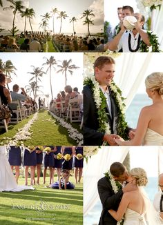 hawaiian wedding, island, kauai, details, destination wedding, groom, groomsmen, photographer, ceremony, beach, ocean