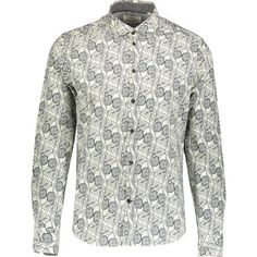 Buy Multicoloured Leaf Print Shirt at TK Maxx Shirt Outfit, Shirt Dress, Peter Blake, Tk Maxx, Leaf Prints, Printed Shirts, Long Sleeve Shirts, Mens Tops, Stuff To Buy