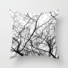 Buy Branches Throw Pillow by ARTbyJWP. Worldwide shipping available at Society6.com. Just one of millions of high quality products available.
