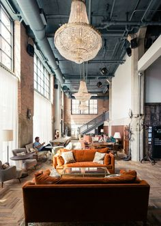 A former belt factory in Chicago's Fulton Market district featuring Club Bar, Drawing Room, Music Room, 15,000 sq ft Gymnasium, Screening Room, Belt Room, Rooftop with Pool, Cowshed spa, Allis...