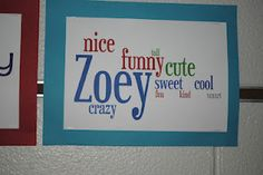 Teaching adjectives.. have  students list an adjective for all the others in the class, then use wordle to put the words together into a fun display!