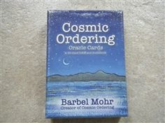 Barbel Mohr - Cosmic Ordering Oracle Cards From the author who brought us the bestselling 'Cosmic Ordering for Beginners' comes a new way to communicate with the cosmos. Listen to your inner voice, pick a card, and take meaning from what the cosmos delivers. Each card features a positive statement that will help you to have the best possible life for yourself and those you love. Angel Cards, Ways To Communicate, Oracle Cards, Listening To You, Cosmic, The Voice, Meant To Be, Bring It On