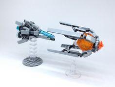 LEGO R-TYPE by ToyForce LEGO Mecha http://flic.kr/p/JwwxGz