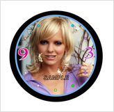 ANNA FAIRIS HOUSEBUNNY NOVELTY WALL CLOCK - HOT!