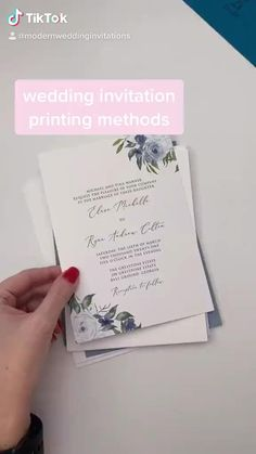 Foil stamping and thermography and letterpress, oh my! Which printing method is right for your wedding invitations? Take the quiz now to find out!