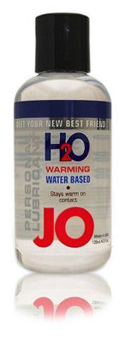 JO 2.5 oz Warming H2O Lubricant Funtimes209