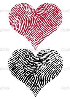 Tattoo idea, man gets his girls finger print and woman gets her mans finger print. Love it.