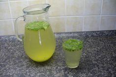 Jak připravit domácí zázvorovo-mátovou limonádu s citronem   recept