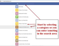 3 Interesting Uses of Facebook Graph Search