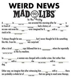 Sly image throughout funny mad libs for adults printable