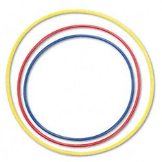 """Hula Hoop Rhythms  Put the 4 hoops on the floor. Turn on a steady beat   When I step into the red hoop, the students pat whole notes...  So then I choose other students to be """"conductors"""