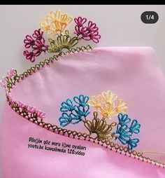 Crewel Embroidery, Baby Knitting Patterns, Tatting, Needlework, Elsa, Diy And Crafts, Flowers, Craft, Embroidery Ideas