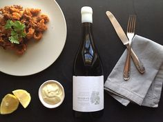 Squid and Garlic Aioli paired with Bosman Family Vineyards Fides South African Wine, Garlic Aioli, Wine Pairings, Wine Recipes, Wines, Management, Yummy Food, Social Media, Tableware
