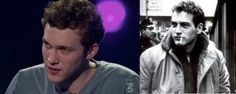 Phillip Phillips looks just like a young Paul Newman.  This guy is gonna hit it big!!