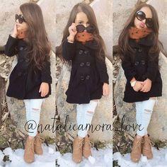 Little girl fall/winter fashion @KortenStEiN