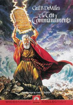 The Ten Commandments Movie (1956) - I can't tell you how many times I've watched this all the way through.