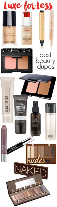 Luxe for Less: The Best Beauty Dupes for High-End Products