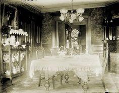 victorian era dining room -l ight fixture Google Search