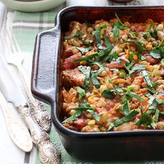 """When I was researching the name for this recipe, I found out that people expect different things from a recipe called """"casserole"""". Some people expect a dish that is baked in the oven and covered in..."""