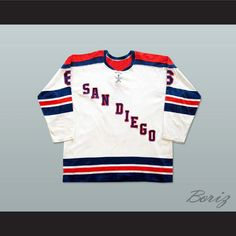 Bob Falkenberg San Diego Mariners Hockey Jersey NEW Stitch Sewn Any Player  or Number. SHIPPING 0e85b8a2a