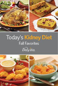 Get delicious and comforting kidney-friendly Fall recipes with this new, free, downloadable cookbook!