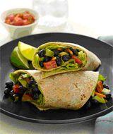 Avocado-Bean Wrap #ProjectLunchBox