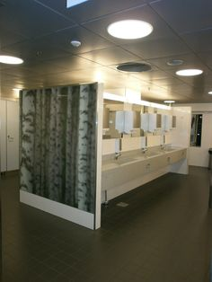Ladiesroom in Helsinki airport,there you can also listen birds singing!